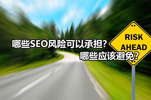 【网络快速排名】_哪些SEO风险可以承担?哪些应该避免?