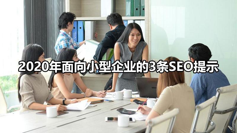 【手机快速排名】_2020年面向小型企业的3条SEO提示