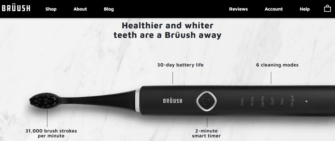 做垂直电动牙刷领域的订阅电商,「Bruush Oral Care」获 650 万美元 A 轮融资