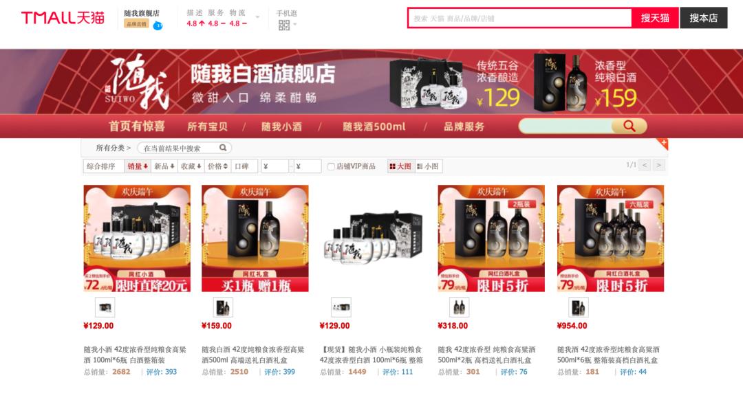 字节跨界造酒「随我」,面市一年卖得怎么样?