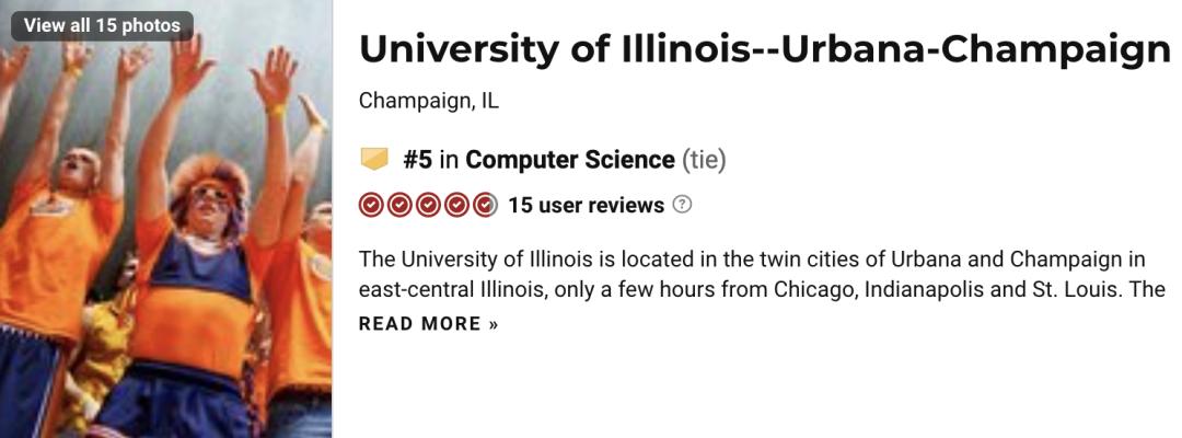 计算机全美大学排名(美国哪些学校计算机专业好)