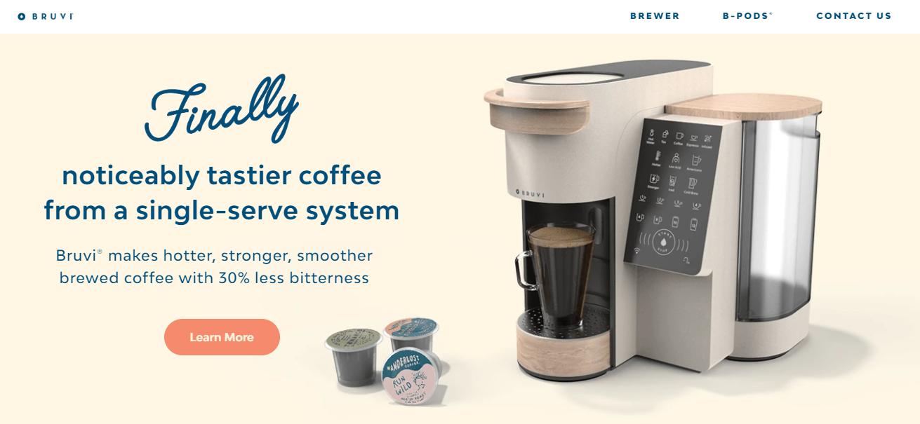「Bruvi」获 220 万美元种子轮融资,瞄准单人咖啡市场