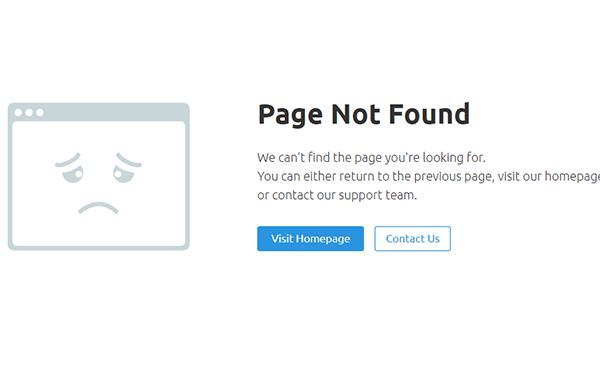 404 not found怎么解决?404页面怎么做好用户留存!
