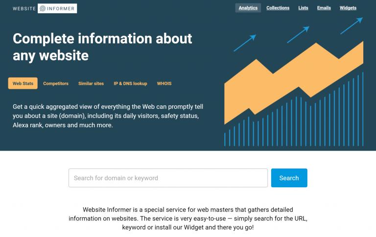 网站流量统计有哪些,10个比较网站流量的工具