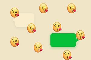 【微信发什么会掉东西】为什么微信发会下表情雨