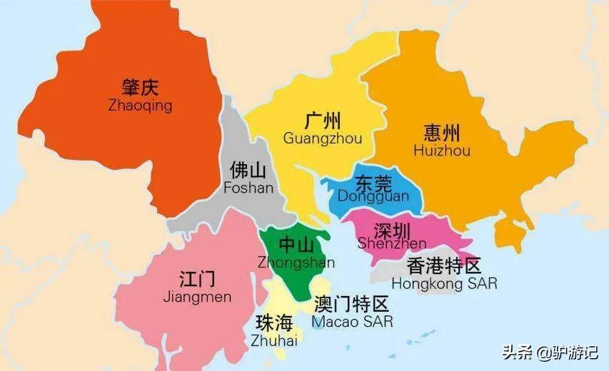珠三角是指哪几个城市(经济发达的珠三角)