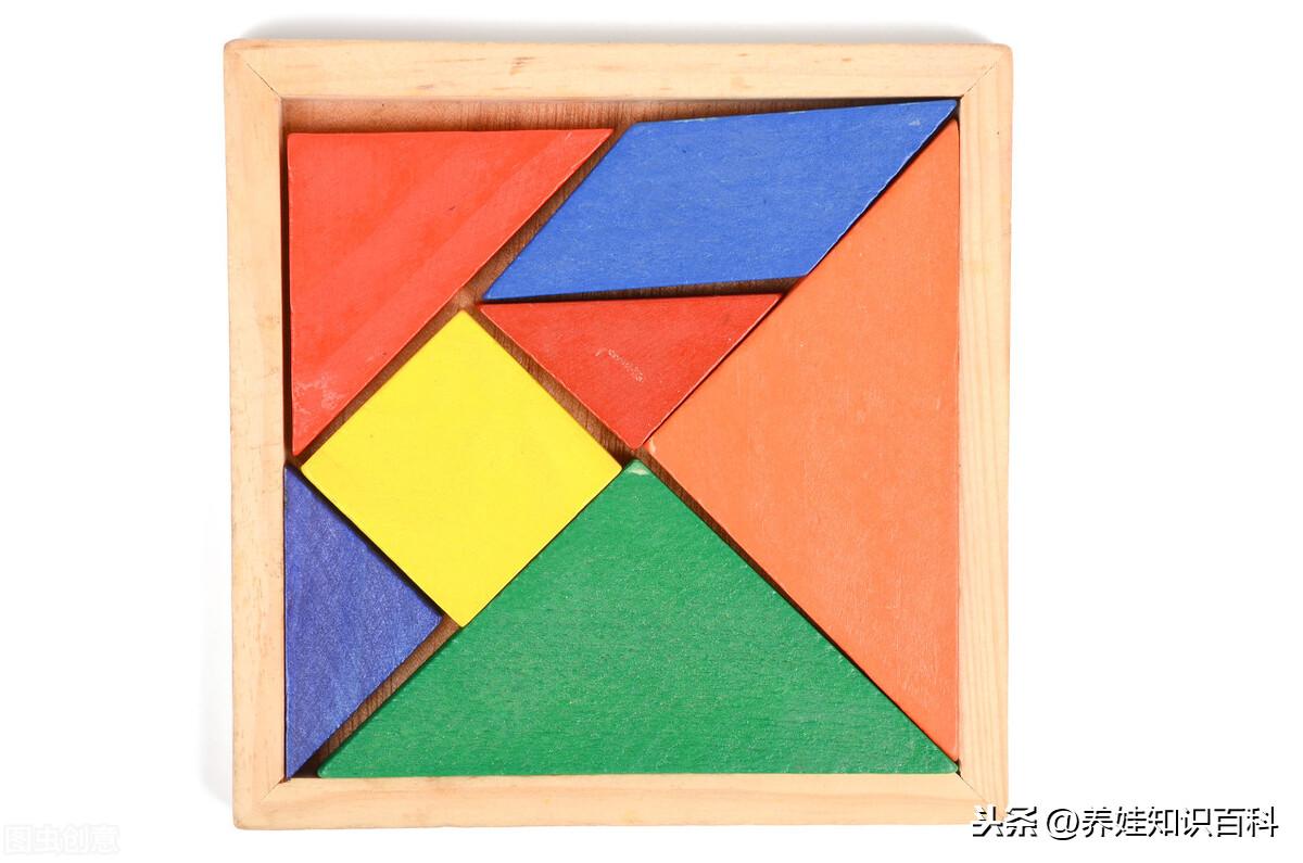 七巧板拼正方形(不同的拼法可以拼成不同的图形和形象)