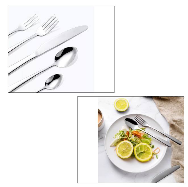 不锈钢刀叉(西餐刀叉勺的美食世界)