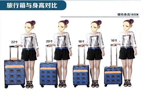 行李箱24寸是多少厘米(行李箱各尺寸详细参数)