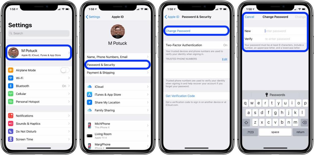 苹果id怎么更换账号密码(手把手教你更改苹果id密码)