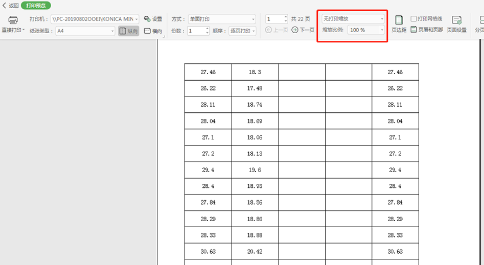 excel缩放打印怎么设置在哪(excel表格操作及打印技巧)